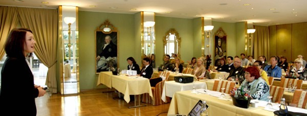 Referentin 2015 im Herzog Carl August Saal