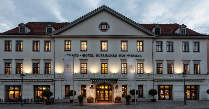 Grand Hotel Russischer Hof in Weimar