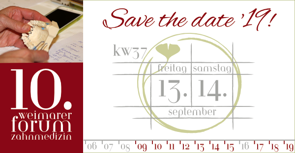 13.-14.09.2019 Save the date!